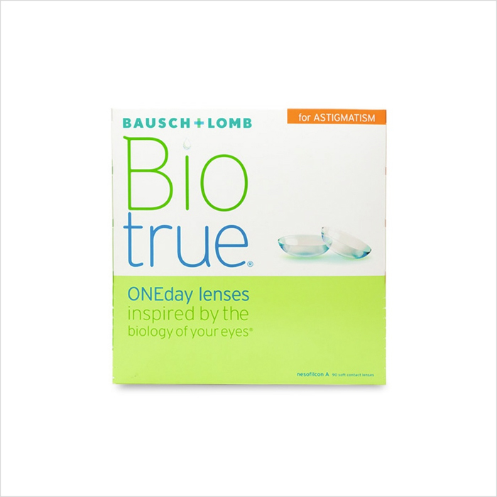 Biotrue ONEday for Astigmatism 90 Pack